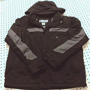 Columbia Fleece Lined Jacket, Size Large